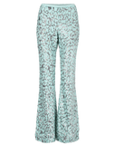 MICHAEL KORS COLLECTION CLOTHINGPANTWIDE LEG Embroidered Flare Pant