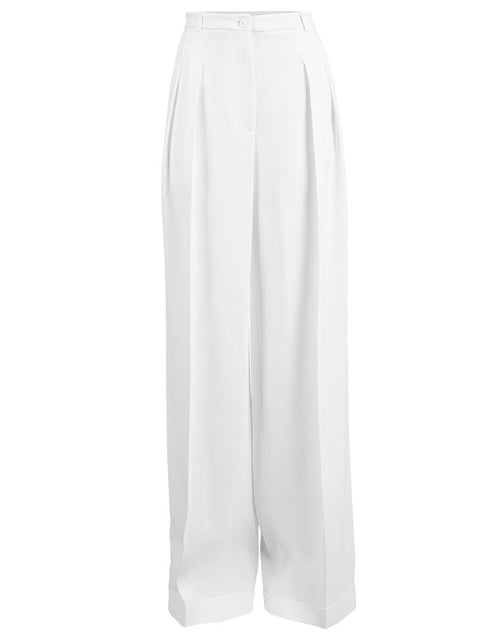 MICHAEL KORS COLLECTION CLOTHINGPANTWIDE LEG High Waist Wide Leg Pant