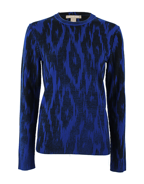 MICHAEL KORS COLLECTION CLOTHINGTOPKNITS Cashmere Ikat Pullover
