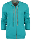 MICHAEL KORS COLLECTION CLOTHINGTOPKNITS Diamond Cord Hoodie
