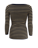 MICHAEL KORS COLLECTION CLOTHINGTOPKNITS Metallic Striped Top