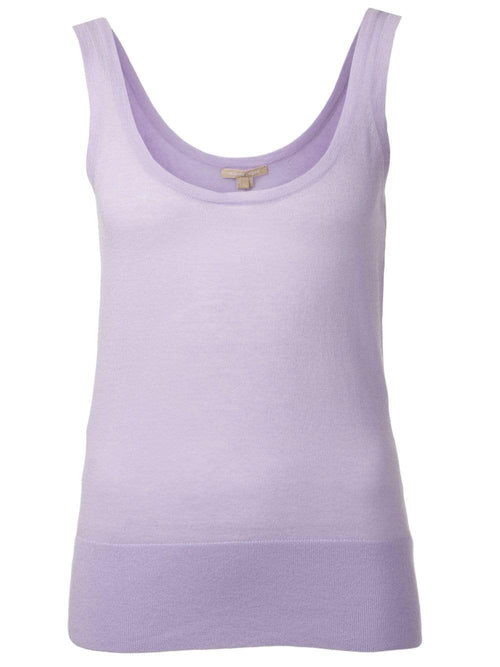 MICHAEL KORS COLLECTION CLOTHINGTOPTANK Featherweight Cashmere Tank