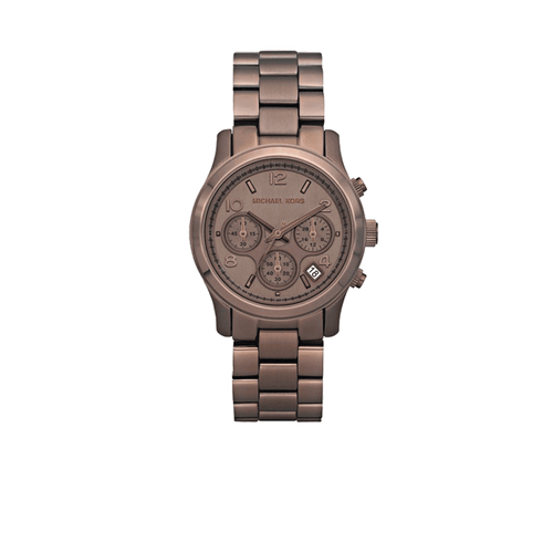 MICHAEL KORS WATCH ACCESSORIEWATCHES CHOCOLAT Chocolate Runway Watch