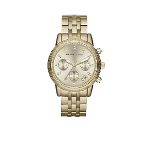 MICHAEL KORS WATCH ACCESSORIEWATCHES YLLW/GLD Ritz Chronograph Watch