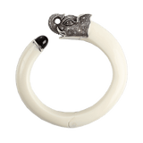 MIRIAM SALAT JEWELRYBOUTIQUEBRACELET O SS/IVORY Elephant Head Bangle