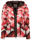 MONCLER CLOTHINGCOATDOWN Geo Print Jacket