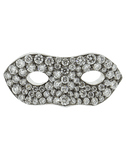 MONICA RICH KOSANN JEWELRYFINE JEWELRING WHTGOLD / 4 Diamond Pave Mask Ring