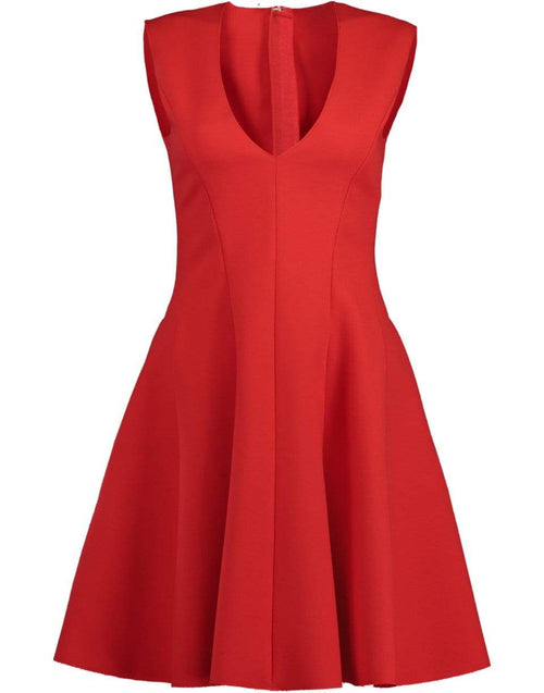 MSGM CLOTHINGDRESSCASUAL Red Fit & Flare Dress