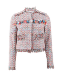 MSGM CLOTHINGJACKETMISC Tweed Jacket