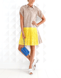 N0.21 CLOTHINGDRESSCASUAL Bi-Color Lace Dress