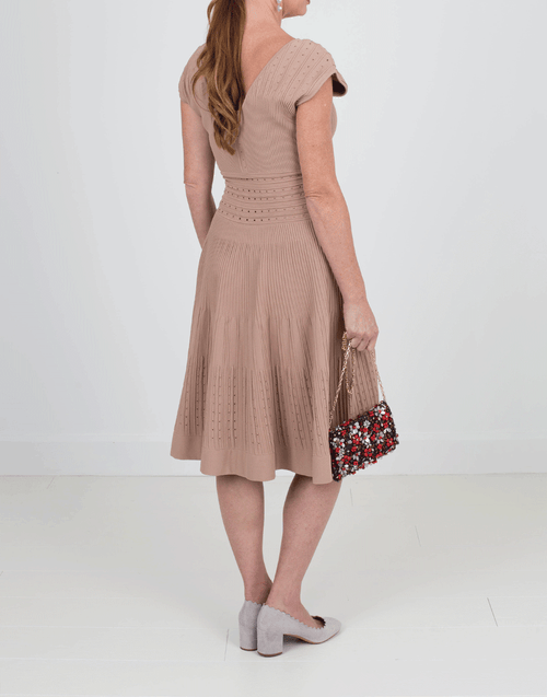 N0.21 CLOTHINGDRESSCASUAL Flounce Bottom Knit Dress