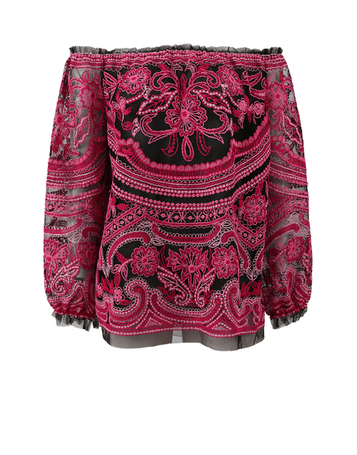 NAEEM KHAN CLOTHINGTOPBLOUSE Embroidered Blouse