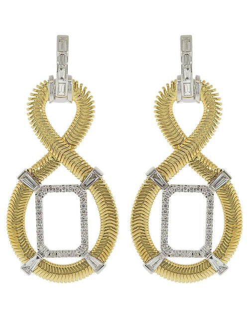 NIKOS KOULIS JEWELRYFINE JEWELEARRING YLWGOLD Figure 8 Diamond Earrings