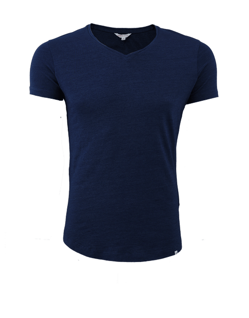 ORLEBAR BROWN MENSCLOTHINGTEE OB-V Denim Tailored Fit V-neck T-Shirt