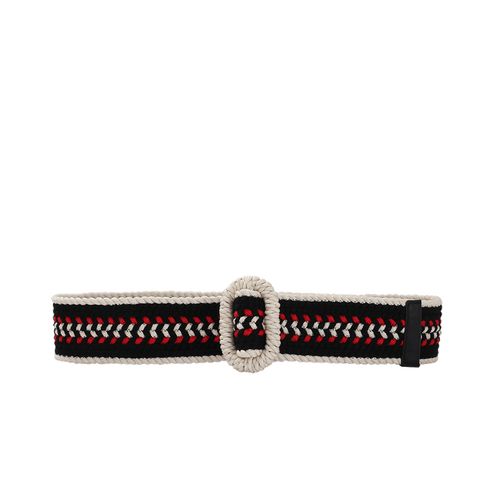 OSCAR DE LA RENTA ACCESSORIEBELTS Multi Color Woven Belt
