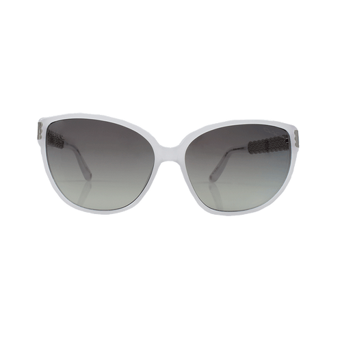 OSCAR DE LA RENTA ACCESSORIESUNGLASSES IVORY Ivory And Silver Sunglasses