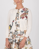 OSCAR DE LA RENTA CLOTHINGDRESSCASUAL Bateau Neck Full Bottom Dress
