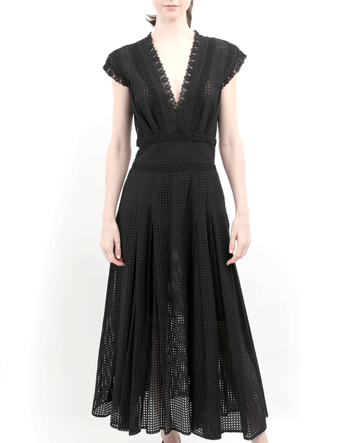 OSCAR DE LA RENTA CLOTHINGDRESSCASUAL Eyelet Dress