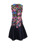 OSCAR DE LA RENTA CLOTHINGDRESSCASUAL Floral Mikado Dress