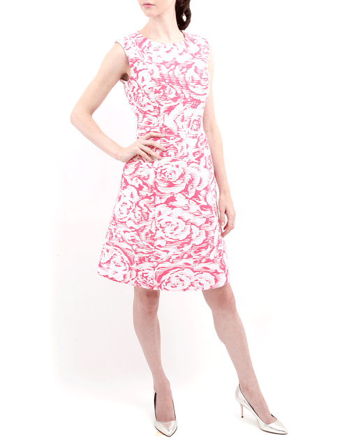 OSCAR DE LA RENTA CLOTHINGDRESSCASUAL Ribbon Bottom Dress