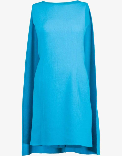 OSCAR DE LA RENTA CLOTHINGDRESSCASUAL Shift Dress with Cape