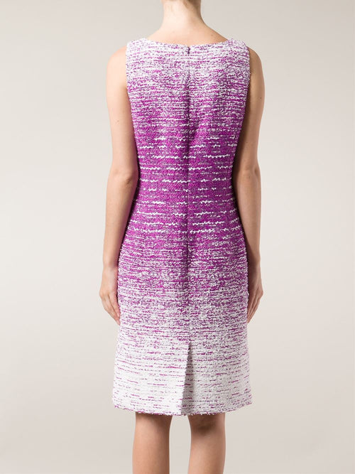 OSCAR DE LA RENTA CLOTHINGDRESSCASUAL Textured Tweed Pencil Dress