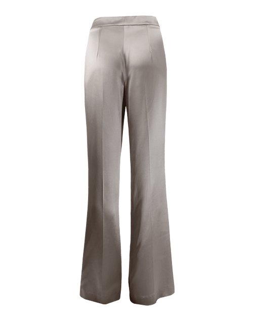 OSCAR DE LA RENTA CLOTHINGPANTMISC Side-Zip Satin-Crepe Pants