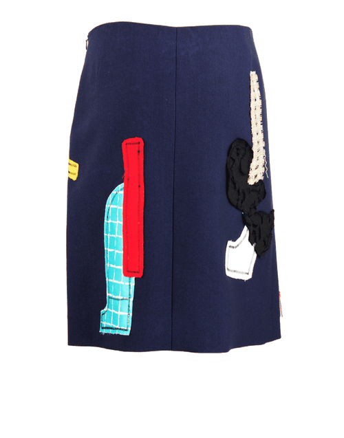 OSCAR DE LA RENTA CLOTHINGSKIRTMISC Patchwork Embroidered Skirt