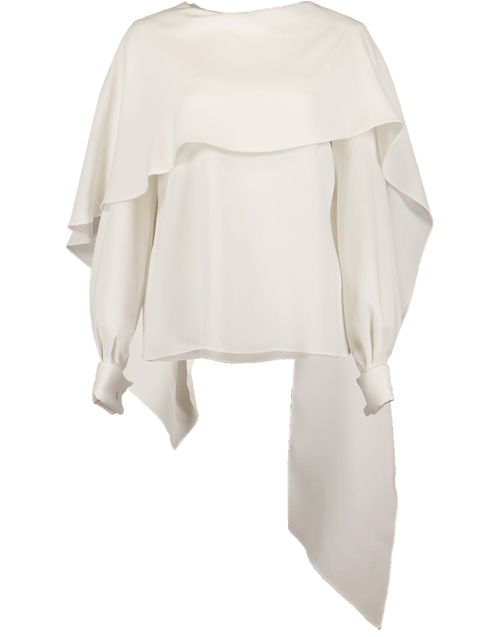 OSCAR DE LA RENTA CLOTHINGTOPMISC Drape Neck Top