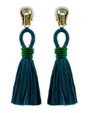 OSCAR DE LA RENTA JEWELRYBOUTIQUEEARRING FERN Raffia Tassel Earrings
