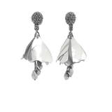 OSCAR DE LA RENTA JEWELRYBOUTIQUEEARRING SILVER / O/S Mini Impatiens Drop Earrings