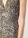 PAMELLA ROLAND CLOTHINGDRESSCOCKTAIL GUNMETAL / 14 Ombre Signature Sequin Dress