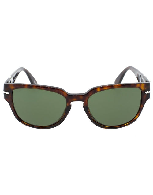 PERSOL ACCESSORIESUNGLASSES HAV/GRN Havana and Green Acetate Sunglasses