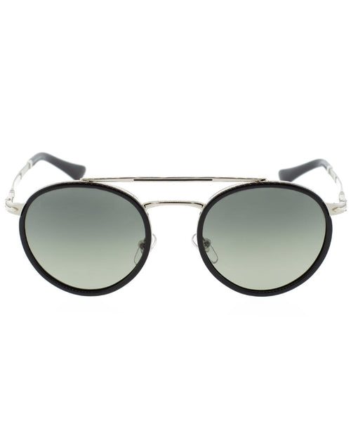 PERSOL ACCESSORIESUNGLASSES SLVR/GRY Steel Men's Sunglasses