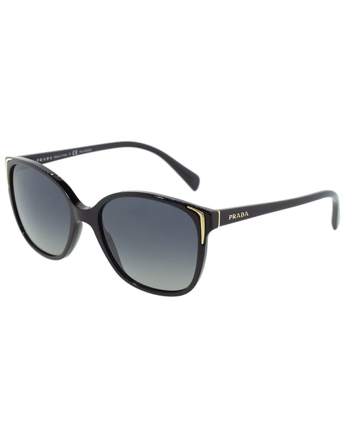 PRADA ACCESSORIESUNGLASSES BLACK Black Polarized Sunglasses