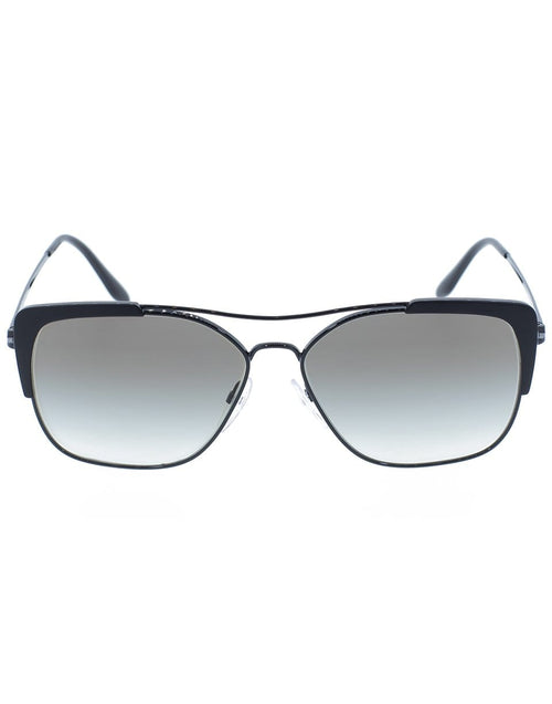 PRADA ACCESSORIESUNGLASSES BLACK Conceptual Rectangle Sunglasses