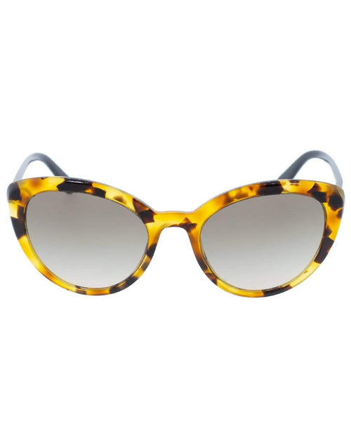 PRADA ACCESSORIESUNGLASSES ORANGE Orange Slim Cat Eye Sunglasses