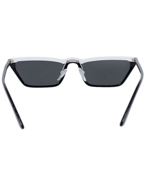 PRADA ACCESSORIESUNGLASSES WHT/BLK Catwalk Ultravox Sunglasses