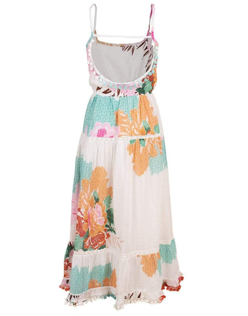 RANEES CLOTHINGDRESSCASUAL Long Cotton Floral Dress