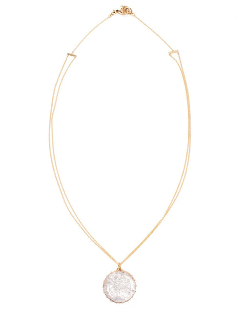 RENEE LEWIS JEWELRYFINE JEWELNECKLACE O YLWGOLD Diamond Shake Necklace