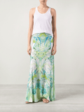 ROBERTO CAVALLI CLOTHINGSKIRTMAXI Printed Pull On Maxi Skirt