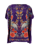ROBERTO CAVALLI CLOTHINGTOPMISC Garden Print Top
