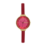 RUMBATIME ACCESSORIEWATCHES MERLOT Marlot Orchard Leather Watch