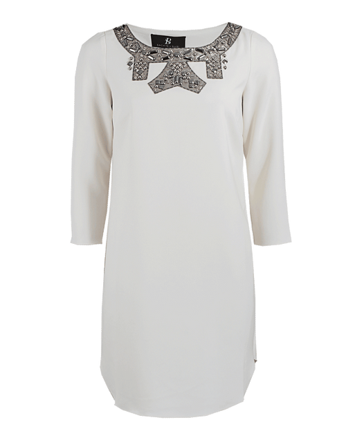 SACHIN & BABI CLOTHINGDRESSCASUAL Embellished Neckline Monblanc Dress