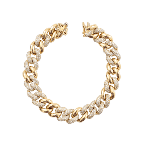 SHAY JEWELRY JEWELRYFINE JEWELBRACELET O YLWGOLD Essential Alternating Link Bracelet