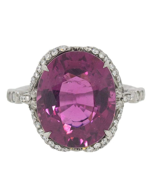 SIDNEY GARBER JEWELRYFINE JEWELRING WHTGOLD / 6 Georgica Pond Rubellite Ring