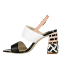 SOPHIA WEBSTER SHOESANDAL Celia Mid Color Block Sandal