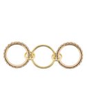 SPINELLI KILCOLLIN JEWELRYFINE JEWELRING ROSEGOLD / 7 Juno Champ Three Linked Rings