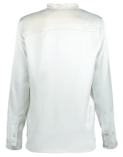 STELLA MCCARTNEY CLOTHINGTOPBLOUSE Silk Satin Henley Top