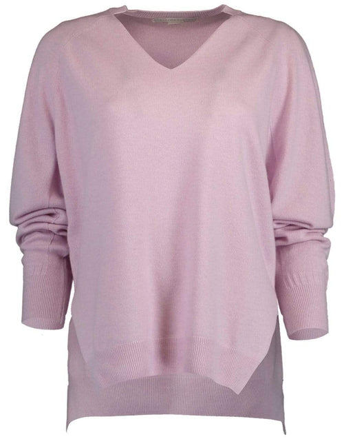 STELLA MCCARTNEY CLOTHINGTOPKNITS Split Side Pullover Sweater